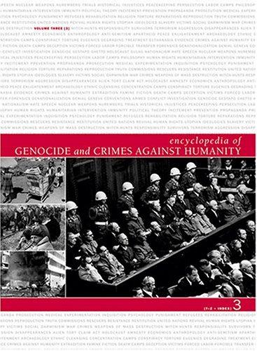 Encyclopedia of Genocide and Crimes Against Humanity (Hardback)