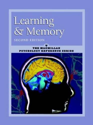 9780028659190: Learning and Memory: Macmillan Psychology Reference Series