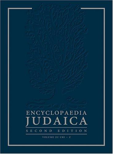 9780028659282: Encyclopedia Judaica 22 Volume Set