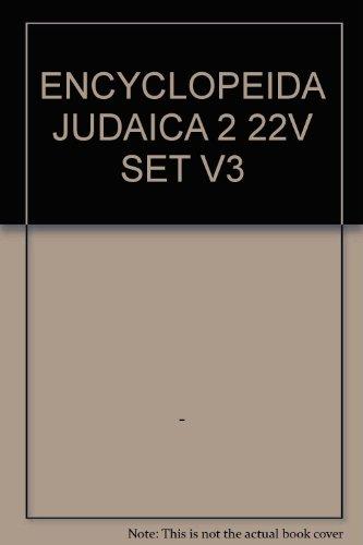 9780028659312: ENCYCLOPEIDA JUDAICA 2 22V SET V3