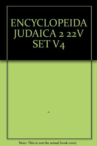9780028659329: Encyclopaedia Judaica, Volume 4: Blu - Cof