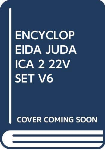Encyclopaedia Judaica (Volume 6)