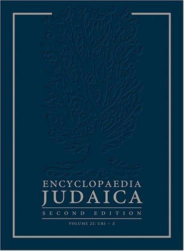 9780028659442: ENCYCLOPEIDA JUDAICA 2 22V SET V16