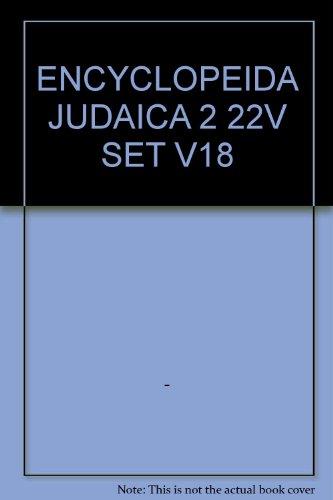 9780028659466: ENCYCLOPEIDA JUDAICA 2 22V SET V18