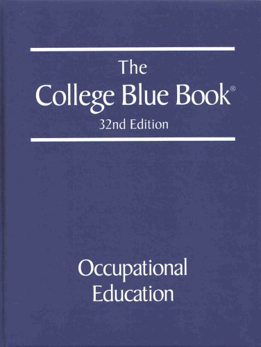9780028659572: The College Blue Book : Occupational Education (Volume 4)
