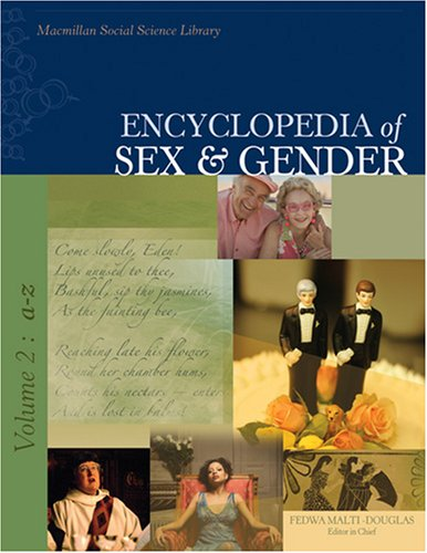 9780028659602: Encyclopedia of Sex and Gender Volume 2 (Encyclopedia of Sex & Gender)