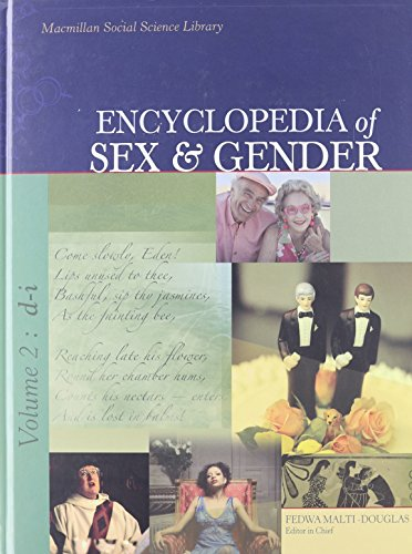 9780028659626: Encyclopedia of Sex and Gender