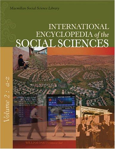 9780028659657: International Encyclopedia of Social Science (International Encyclopedia of the Social Sciences)