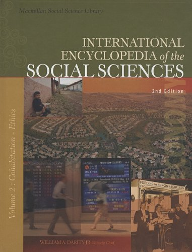 9780028659671: International Encyclopedia of the Social Sciences: Volume 2: Cohabitation-Ethics in Experimentation (MacMillan Social Science Library)