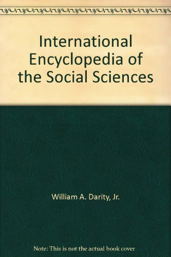 9780028659701: International Encyclopedia of the Social Sciences