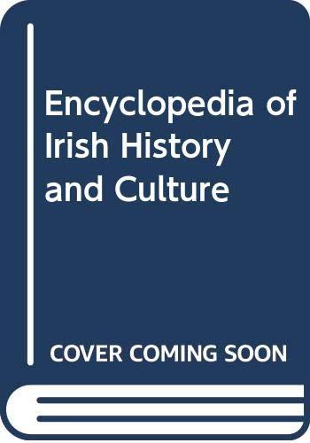9780028659893: Encyclopedia of Irish History and Culture