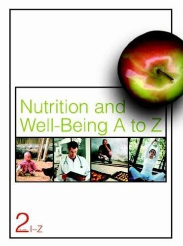 9780028659909: Nutrition and Well-being a to Z