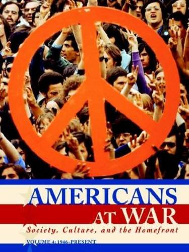 9780028659930: Americans at War: Society, Culture, and the Homefront