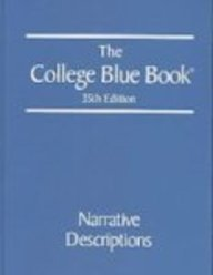 9780028660134: College Blue Book 35 6v Set (College Blue Book (6v.))