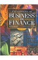 9780028660615: Encyclopedia of Business & Finance 2 VOL SET(Encyclopedia of Business and Finance)