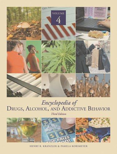 9780028660646: Encyclopedia of Drugs, Alcohol & Addictive Behavior (Encyclopedia of Drugs, Alcohol and Addictive Behavior)