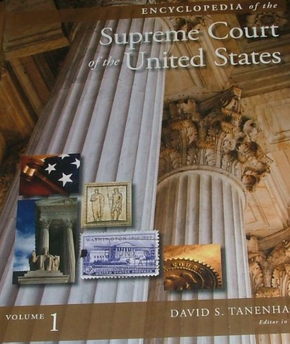 9780028661254: Encyclopedia of the Supreme Court of the United States