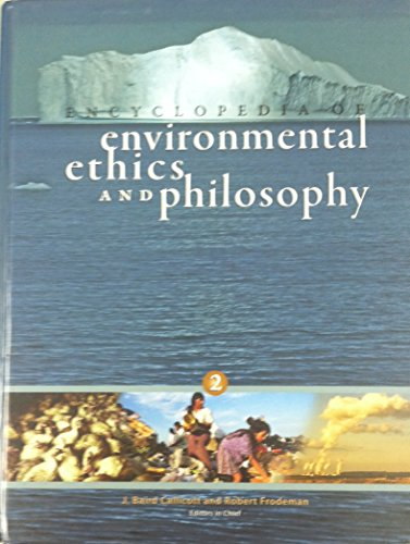9780028661391: Encyclopedia of Environmental Ethics and Philosophy