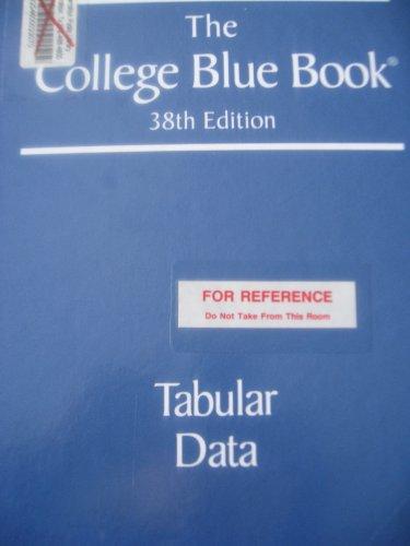 The College Blue Book: Macmillan Publishing