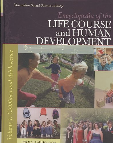 9780028661629: Encyclopedia of the Life Course and Human Development