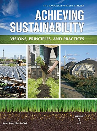 9780028662022: Achieving Sustainability: Visions, Principles, and Practices