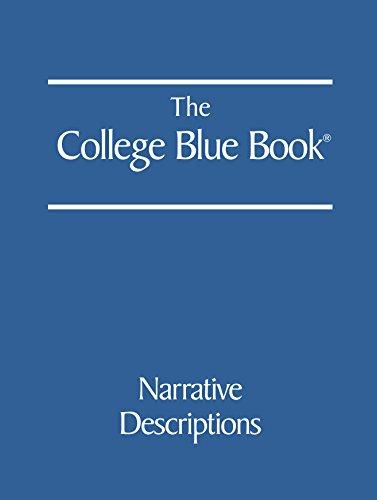 9780028662732: The College Blue Book
