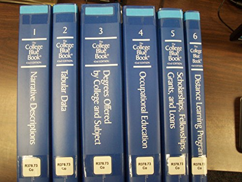 9780028662992: The College Blue Book: 6 volume set