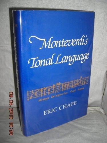 9780028704951: Monteverdi's Tonal Language