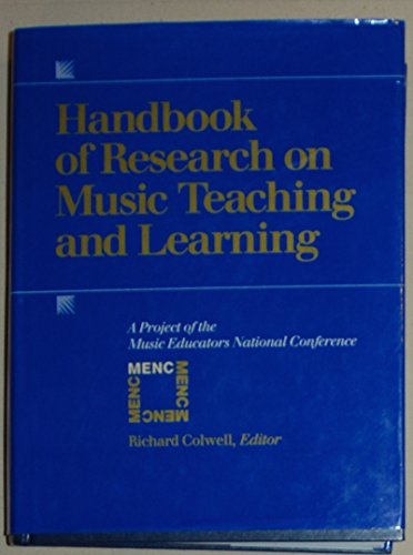 9780028705019: Handbook of Research on Music Teaching and Learning