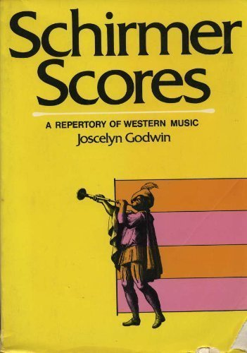 9780028707006: Schirmer Scores: The Repertory of Western Music