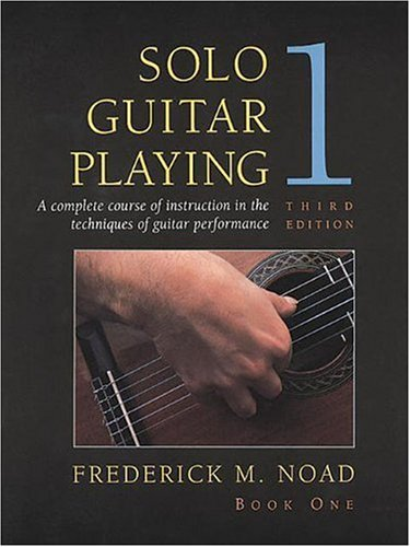 9780028707631: Solo Guitar Playing: Bk.1