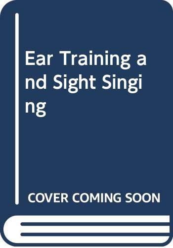 9780028707709: Ear Training and Sight Singing