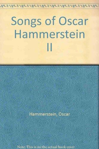 9780028710204: Songs of Oscar Hammerstein II