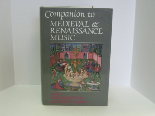 9780028712215: Companion to Medieval and Renaissance Music