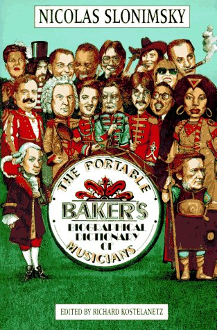 9780028712253: The Portable Baker's Biographical Dictionary of Musicians