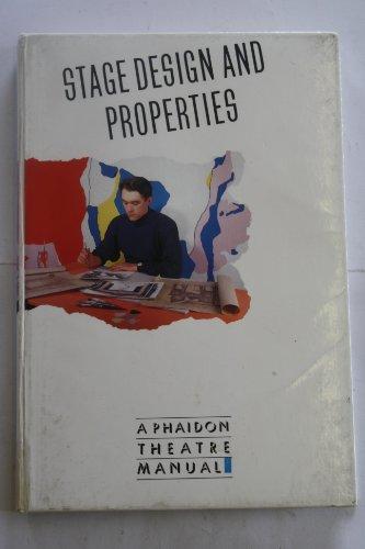 9780028713434: Stage Design and Properties (Schirmer Books Theatre Manuals)