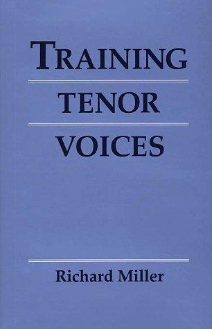9780028713977: Training Tenor Voices