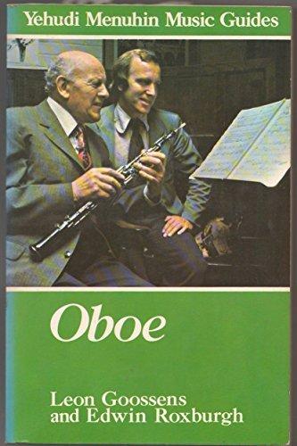 9780028714608: Oboe (Yehudi Menuhin music guides)