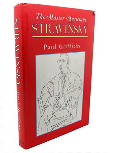 9780028714837: Stravinsky (Master Musicians Series)