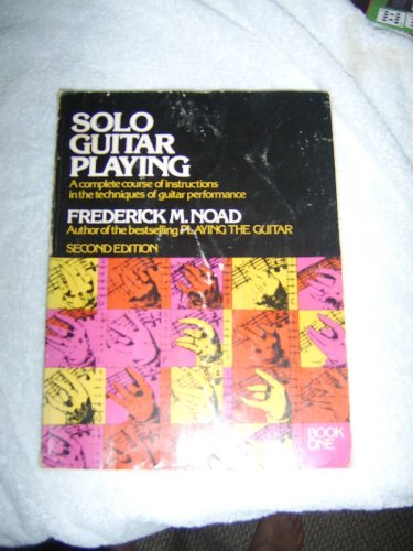 9780028716800: Solo Guitar Playing: Book 1