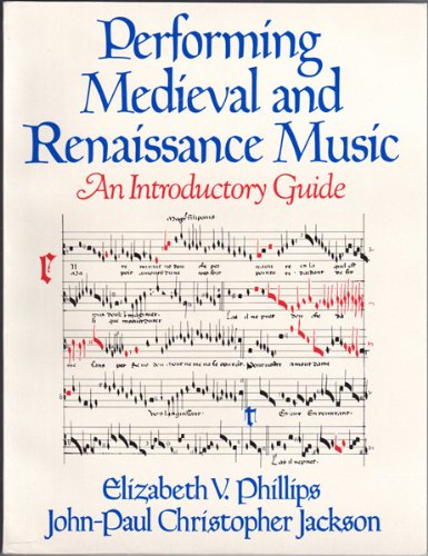 9780028717906: Performing Elizabethan and Renaissance Music: An Introductory Guide