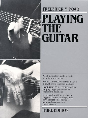 9780028719900: Playing the Guitar: A Self-Instruction Guide to Technique and Theory