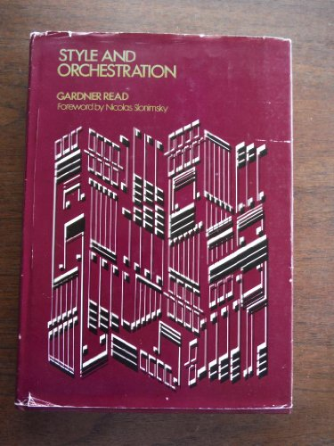 9780028721101: Style and Orchestration
