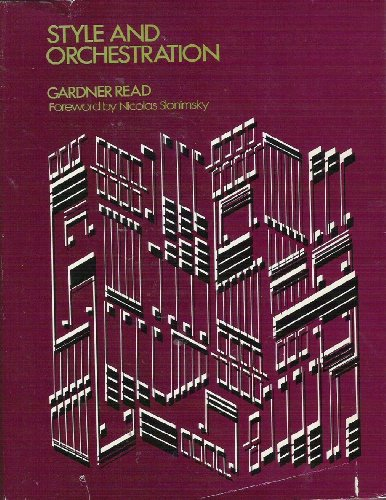 Style and Orchestration: Read, Gardner