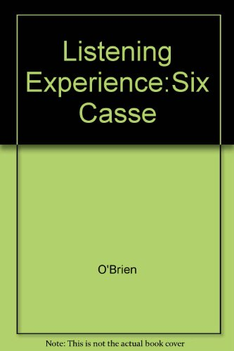9780028721316: The Listening Experience: Elements, Forms, and Styles in Music