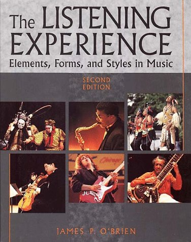 9780028721385: The Listening Experience: Elements, Forms, and Styles in Music