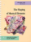9780028722009: Workbook for The Shaping of Musical Elements, Volume II (Shaping of Musical Elements Workbook) Vol 2