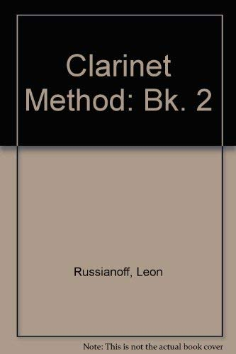 9780028722504: Clarinet Method: Bk. 2