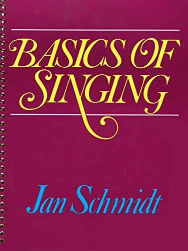 Basics of Singing: Jan Schmidt