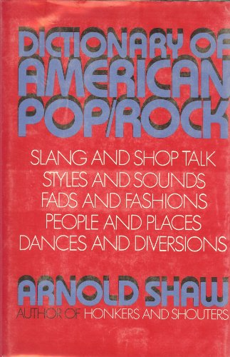 9780028723501: Dictionary of American Pop-Rock